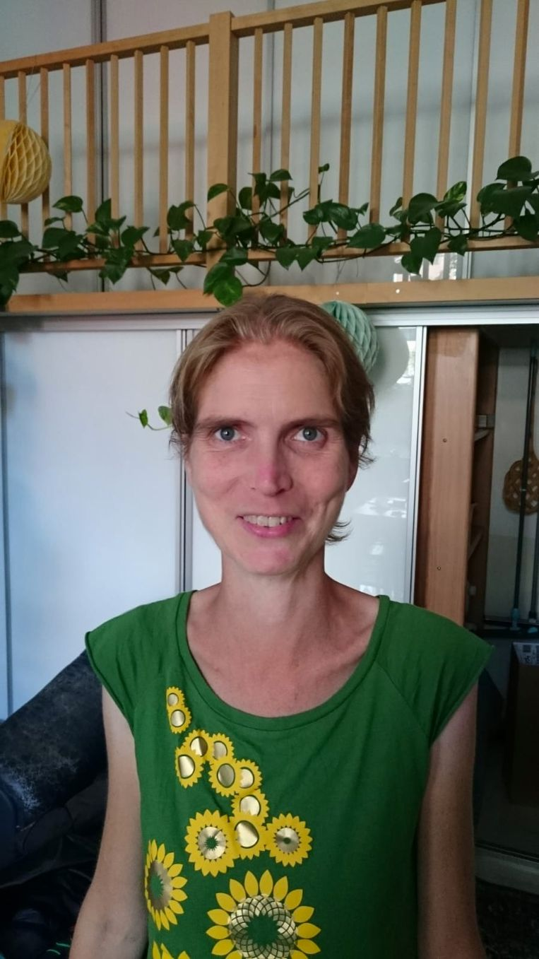 Dieuwke van Wijk: 'Het zijn niet alleen ouderen en doodzieken die behoren tot de risicogroep.' .  Beeld