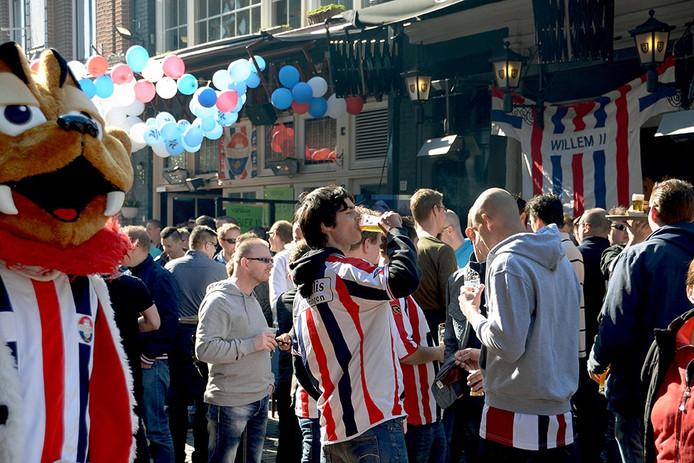 Bierstrasse in de Stadhuisstraat. Foto Jan van Eijndhoven/PVE