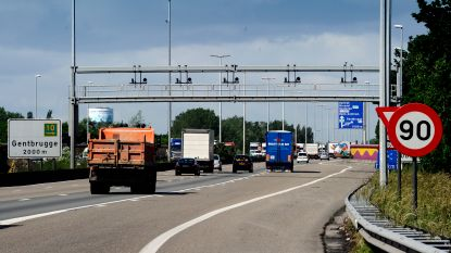 Gent wil snelheidslimiet van 90 per uur op E40 en E17