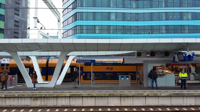 Station Arnhem Centraal op archiefbeeld.