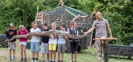 35 kilo slang, schoon aan de haak