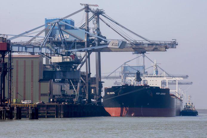 De drugs werden dit voorjaar onderschept in de haven van Rotterdam.