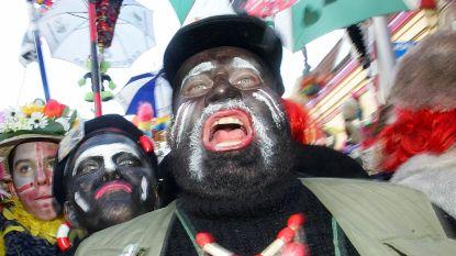 Heisa rond traditioneel carnavalsbal in Duinkerke waar iedereen zich zwart schildert