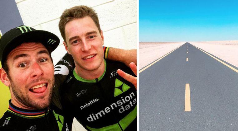 Vandoorne en Cav gingen er in Abu Dhabi samen op uit.
