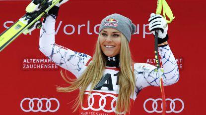 Lindsey Vonn bergt na WK skilatten definitief op