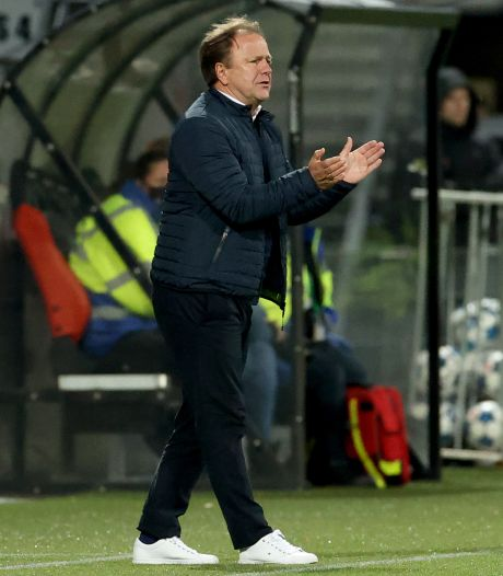 Graafschap-trainer Snoei: 'Moeten blijven spelen, anders gaat het profvoetbal naar de filistijnen'