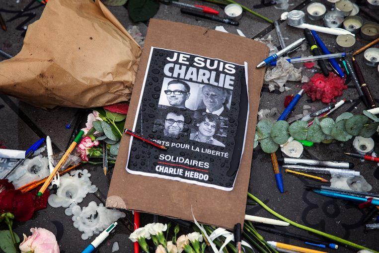"""Poster met """"Je suis Charlie"""""""