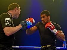 Klitsjko schiet rivaal Joshua te hulp tijdens persconferentie