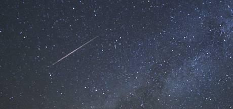 Meteoren zorgen voor prachtige sterrenregen