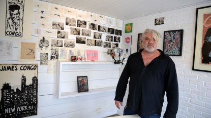 Café-uitbater opent 'de hoogstwaarschijnlijk kleinste kunstgalerij ter wereld'