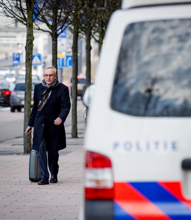 Jos van Rey, maandag voor de rechtbank van Rotterdam.