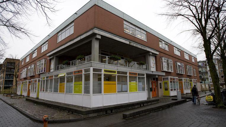 Een straat in Slotervaart. Opbouworganisatie Eigenwijks dreigt uit de wijk te verdwijnen. © ANP Beeld