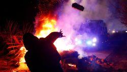 Rellen in Oekraïne bij terugkeer  geëvacueerden uit Wuhan wegens vrees voor coronavirus