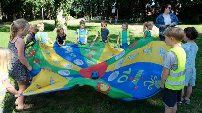 Tijdelijke parking Kastanjebos is opnieuw speelparadijs voor kinderen