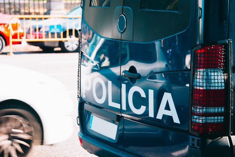 Illustratiebeeld Spaanse politie