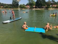 Zwemwater recreatieplas de Zanding in Otterlo weer veilig