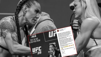 "Seksisme-rel rond 'leading lady' zorgt zelfs in bikkelharde MMA-wereld voor schokgolf: ""Noem me geen transgender"""