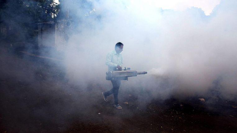 Met de Wageningse geurval zou er volgens de onderzoekers een definitief einde komen aan het gebruik van bestrijdingsmiddelen. Beeld epa