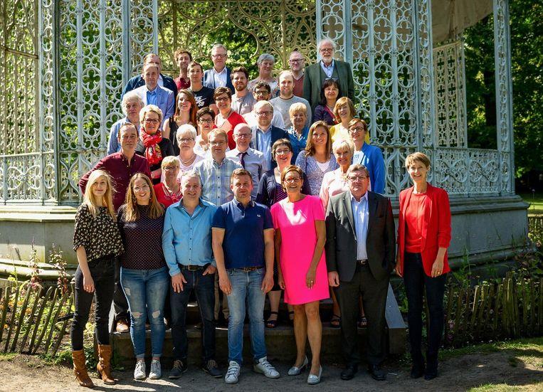 Sp.a heeft 40 van de 41 kandidaten voor de verkiezingen bekendgemaakt.