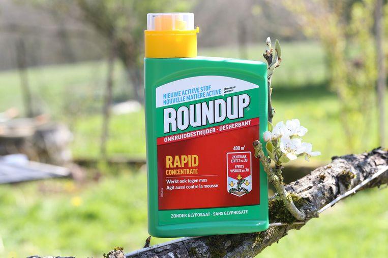 Een nieuwe versie onkruidbestrijder Roundup: zonder glyfosaat.