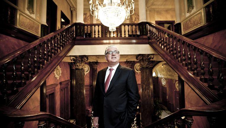 Jeroen Piqueur, van appartementenhandelaar tot bankier. Beeld Emy Elleboog/ID