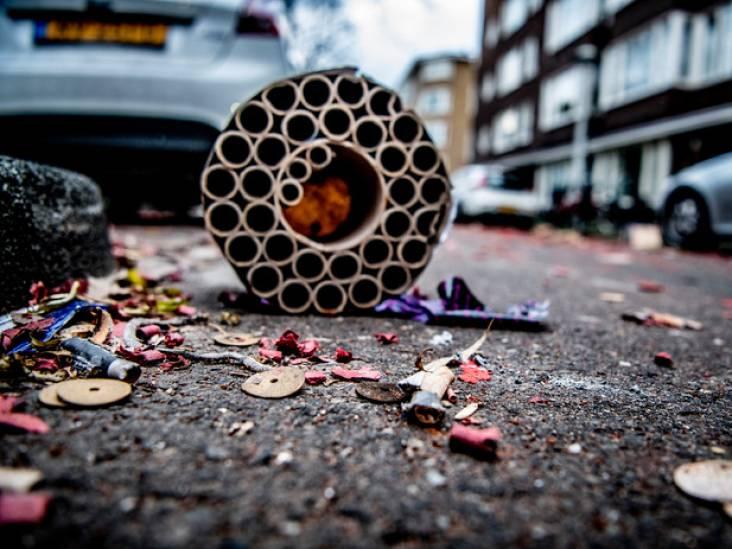 Prullenbakken en verkeersborden de vernieling in geholpen: 63.000 euro schade tijdens jaarwisseling