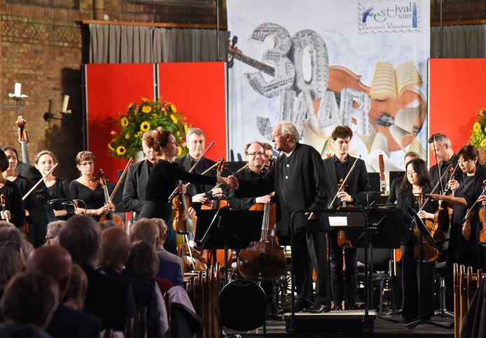 Concert in Sluis, vorig jaar tijdens het Festival van Zeeuwsch-Vlaanderen.