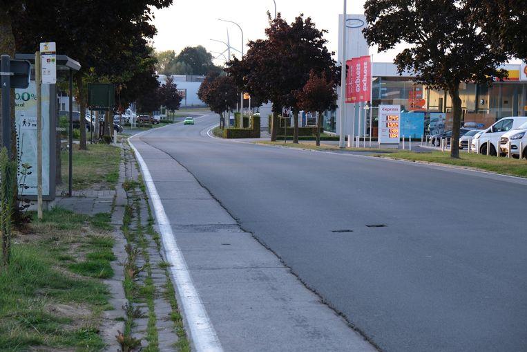 Door werken kan er verkeershinder ontstaan in de Brugseweg in Ieper.