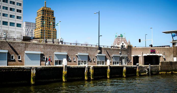 Het voormalige pand van Waterfront in Rotterdam.