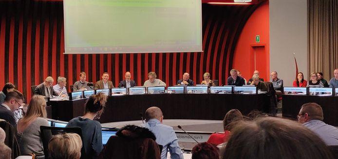 De gemeenteraad van Lommel