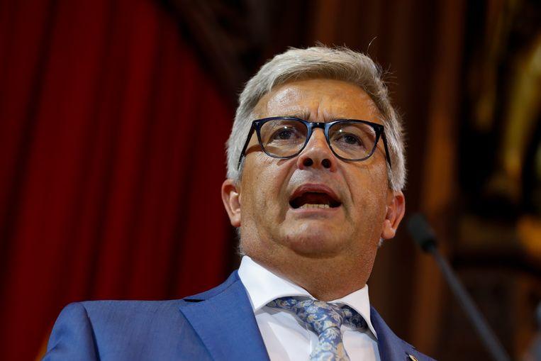 Ex-parlementsvoorzitter Kris Van Dijck (N-VA).