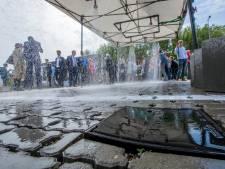Delftse waterstraat als test voor komende piekbuien