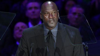 Jordan in tranen bij afscheid Kobe Bryant