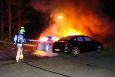Verschillende autobranden in Vlaardingen