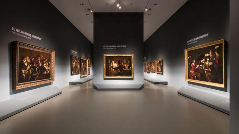 Centraal Museum Utrecht;  Utrecht, Caravaggio en Europa Beeld Ernst Moritz