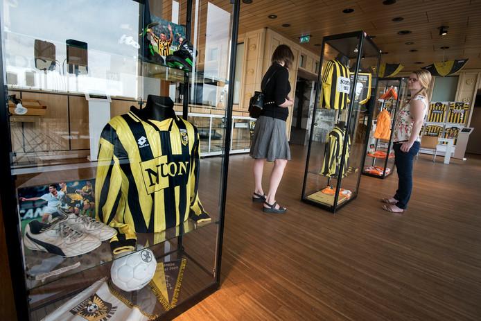 De expositie '125 jaar Vitesse'.