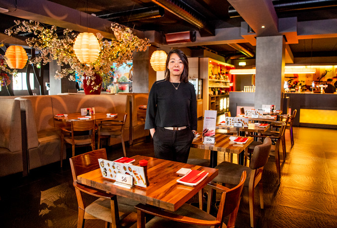 Nancy Leung in Shabu Shabu.