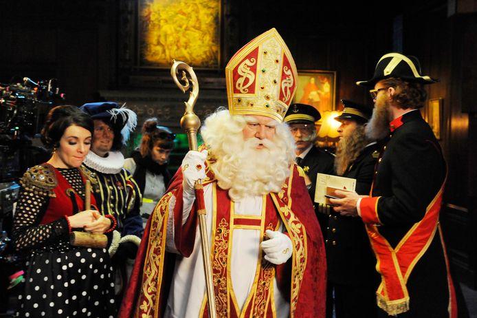 Sinterklaas.