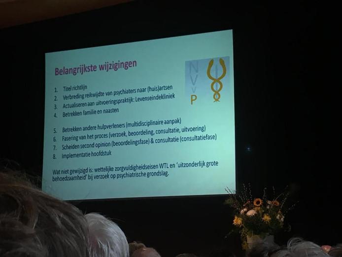 De belangrijkste wijzigingen worden gepresenteerd op het congres 'Euthanasie als behandeloptie bij psychisch lijden'