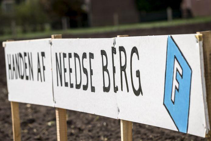 Protestborden actie groep Needse Berg