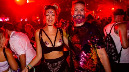 IN BEELD. De 'madness' gaat verder: glitterbaarden en zeemeerminnen sieren tweede weekend Tomorrowland