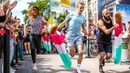 Politie laat zich niet kennen op Pride Games