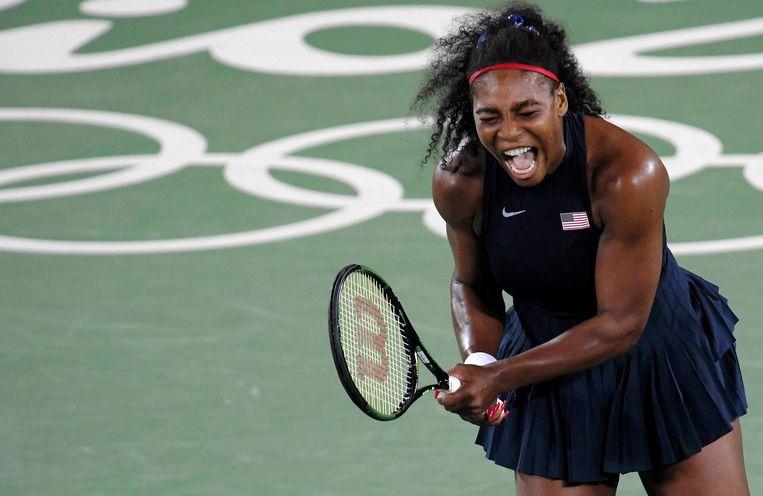 Serene Williams is de volgende tennistopper die uit het olympisch toernooi vliegt. Beeld null