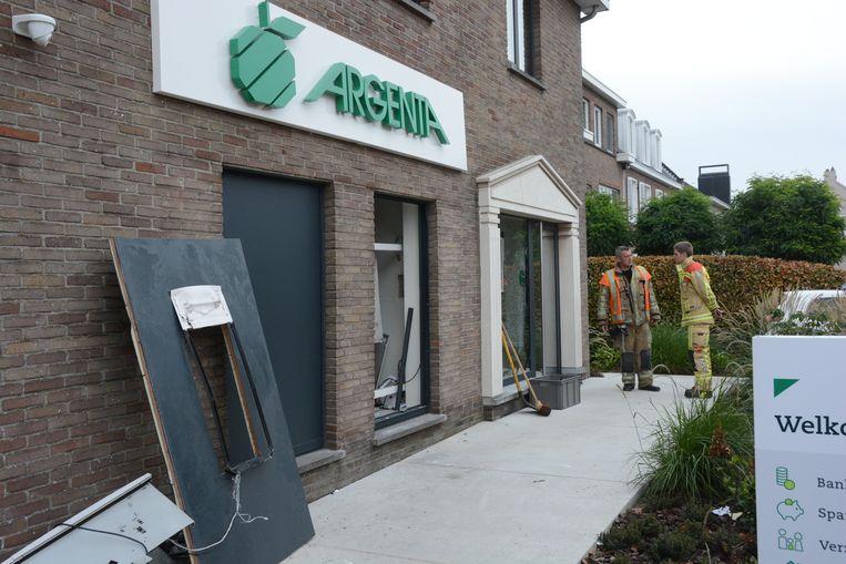 In Sint-Niklaas werd vannacht nog een plofkraak gepleegd op een Argenta-kantoor.
