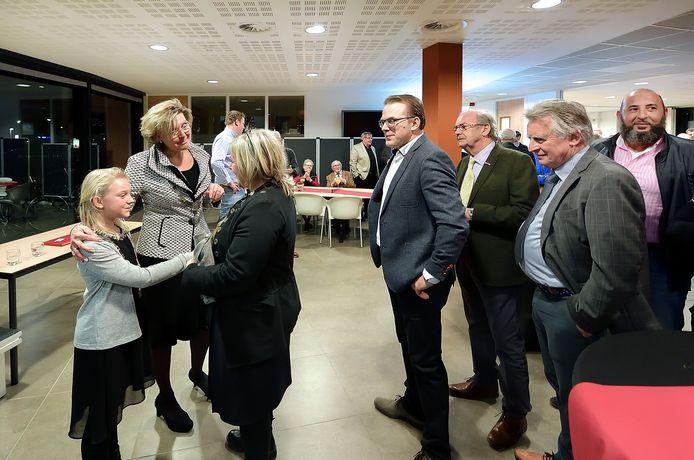 Bij de nieuwjaarsreceptie van 2017 liet burgemeester Jobke Vonk-Vedder zich vergezellen van kinderburgemeester Elise Rijpers.
