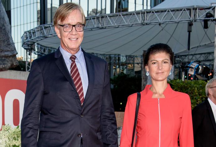 Dietmar Bartsch en Sarah Wagenknecht