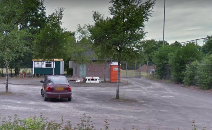 Het voormalige sportpark aan de Weversteeg.