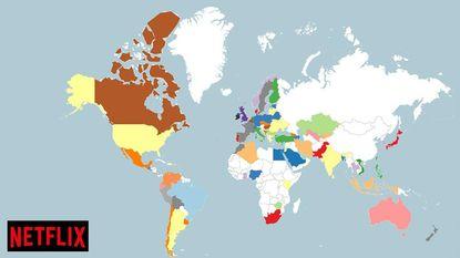 IN KAART: de populairste Netflix-series per land. En de Belgen hebben een verrassende favoriet
