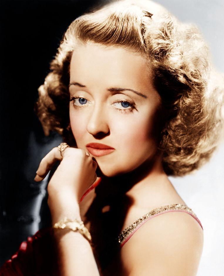 Hollywoodlegende Bette Davis speelde de rol van Margo in de film 'All About Eve'.
