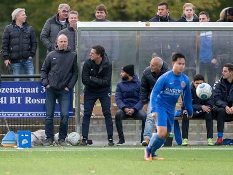Spitsentrainer Van Uden (Real Lunet) was zelf niet te coachen: 'Ik koos mijn momenten'